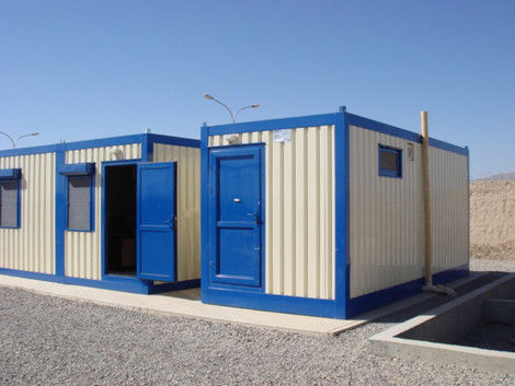 Long lasting Steel Modular House Modular House Satisfies thermal and seismic requirements