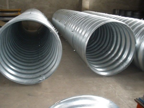New materials Steel Pipe, Corrugated Steel Pipe applied to highway construction